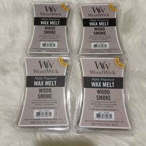 Woodwick wax melts - Wood Smoke